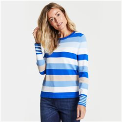Gerry Weber Striped Jumper Blue