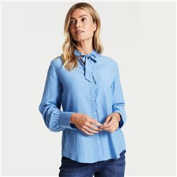 Gerry Weber Blouse With Tie Front Blue