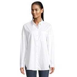 Betty & Co Shirt With Trim Detail White
