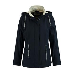 Coat With Hood Navy