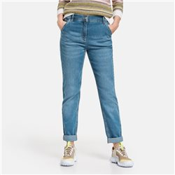 Gerry Weber Jeans With Turn Ups Denim Blue