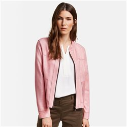 Gerry Weber Suede Look Jacket Pink