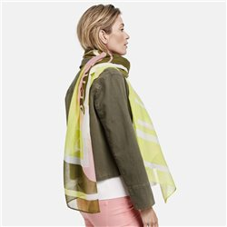Gerry Weber Graphic Print Scarf Khaki