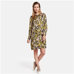 Gerry Weber Floral Print Dress Khaki