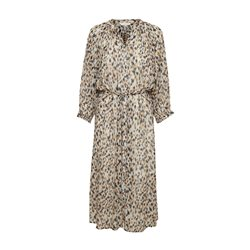Part Two Hoang Patterned Dress Beige