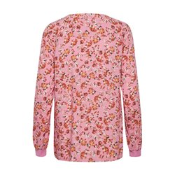 Part Two Pax Floral Print Blouse Pink