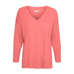 Part Two Hania V Neck Jumper Pink