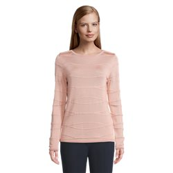 Betty Barclay Wave Effect Jumper Pink