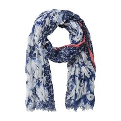 Betty Barclay Floral Print Scarf Blue