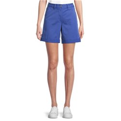 Shorts With Turn Ups Blue