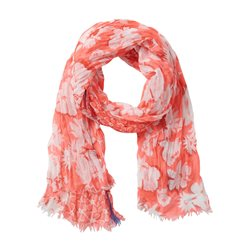 Betty Barclay Floral Print Scarf Coral