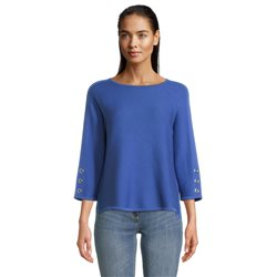 Round-Neck-Jumper-With-Stud-Sleeve-Royal