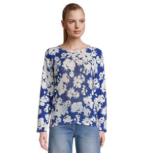 Floral-Print-Jumper-Blue