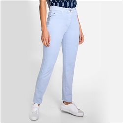 Olsen Mona Slim 5 Pocket Jeans Light Blue
