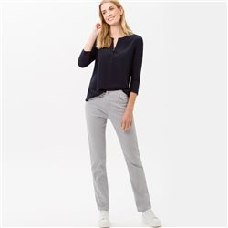 Brax Carola Straight Fit Jean Regular Grey