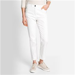 Olsen Mona Slim Fit Jean Off White