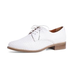 Tamaris Mia Lace Shoe White