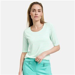Gerry Weber Striped Top Green