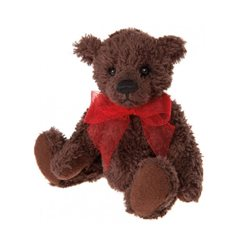 Charlie Bears Charlie Bear Organza The Teddy Bear Keyring Brown