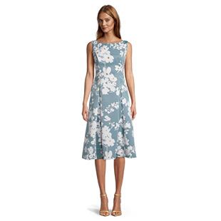Dresses Beaded Floral Dress Blue