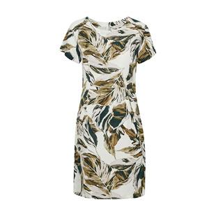 Dresses Indreas Leaf Print Dress Green