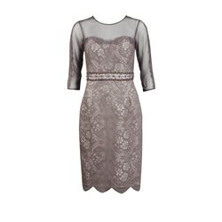 Zeila Grape Lace Dress