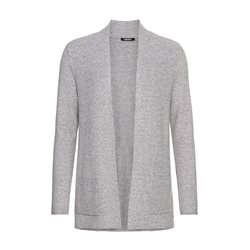 Long-Sleeve-Marled-Knit-Open-Front-Cardigan-With-Front-Pockets-Grey