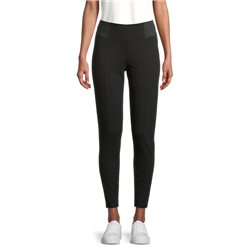 Trousers With Elastic Waistband Black