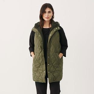 Keisie Reversible Vest Green