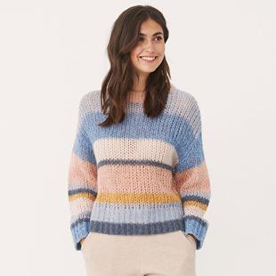 Kanva Knitted Sweater Blue