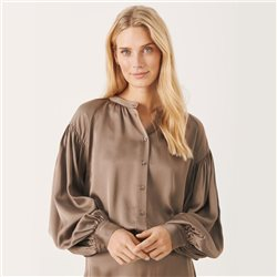 Lucina Blouse Brown