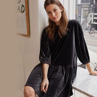 Lenia Dress Black