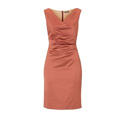 Vera Mont Bronze Satin Dress