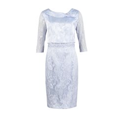 Zeila Pale Blue Lace Dress