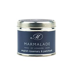 Marmalade Of London English Rosemary & Patchouli Medium Tin Candle