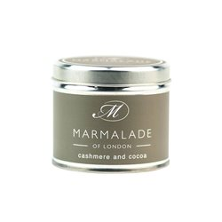 Marmalade Of London Cashmere & Cocoa Medium Tin Candle