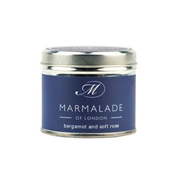 Marmalade Of London Bergamot & Soft Rose Medium Tin Candle