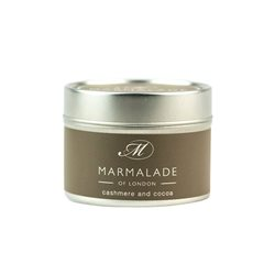 Marmalade Of London Cashmere & Cocoa Small Tin Candle