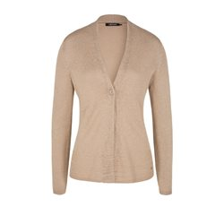 Olsen Knitted Cardigan Taupe