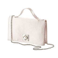 Vera Mont Bag With Square Lock Taupe