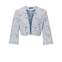 Vera Mont Printed Bolero Powder Blue