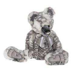 Charlie Bears Melissa Plush Collection Grey