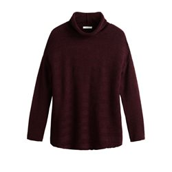 Sandwich Clothing Soft Wool Jumper Plum