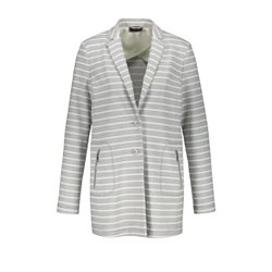 Taifun Striped Blazer Grey