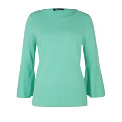 Olsen Bell Sleeved Top Jade