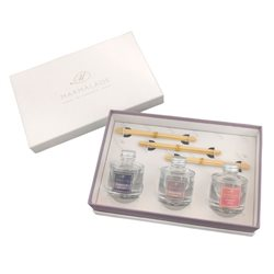 Marmalade Of London Fruity Floral Travel Diffusers Set