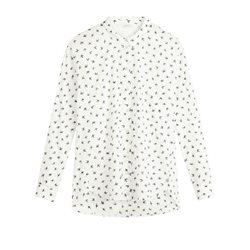 Sandwich Clothing Bird Print Blouse White