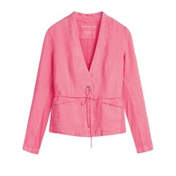 Sandwich Clothing Linen Jacket Coral