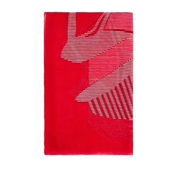 Sandwich Clothing Modal Printed Scarf Red