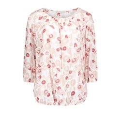 Betty & Co Floral Print Blouse Pink